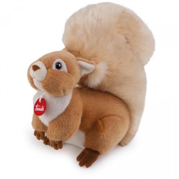 Мягкая игрушка Trudi Белочка Джинджер 24 смБелочка Джинджер 24 смМягкая игрушка Trudi Белочка Джинджер 24 см. Белочка Джинджер, пожалуй, самый симпатичный представитель рода грызунов, вызовет восторг ребенка, а её роскошный хвост – желание его немедленно потрогать. Наверное, каждый, видя в парке или в лесу белочку, мечтал погладить чудесную обитательницу природу или хотя бы просто дотронуться до нее. И вот теперь у вас есть возможность подержать белочку в собственных руках. А ее глазки просто светятся от задора и хорошего настроения!   Белочка изготовлена из грязеотталкивающего материала, что несомненно, порадует родителей.<br>