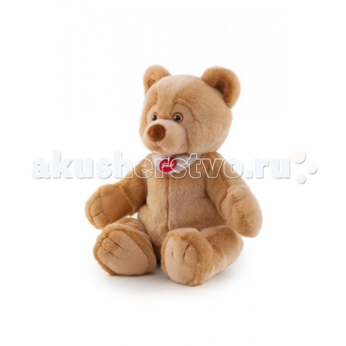 Мягкая игрушка Trudi Бежевый медвежонок Тео 26 смБежевый медвежонок Тео 26 смМягкая игрушка Trudi Бежевый медвежонок Тео 26 см. Улыбчивый Тео с доверчивым взглядом покорит сердце любого малыша, а если вы вручите его любимой девушке, то она точно не откажет вам в свидании!   Тео сделан из высококачественных экологически чистых материалов, он безопасен для здоровья, невероятно приятен на ощупь и способен зарядить позитивом, ведь глядя на его улыбку, хочется улыбнуться в ответ!  Бежевый медвежонок будет сладко спать с вами рядышком, слушать ваши секреты и украсит собой любую комнату. Он сделан итальянским брендом Trudi, который вот уже более полувека радует высококлассными мягкими игрушками, созданными с невероятной теплотой и любовью.  Размер: 26 см<br>