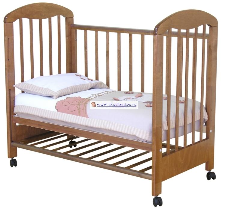 Детская кроватка Можга (Красная Звезда) Тимоша С-313 с ящиком