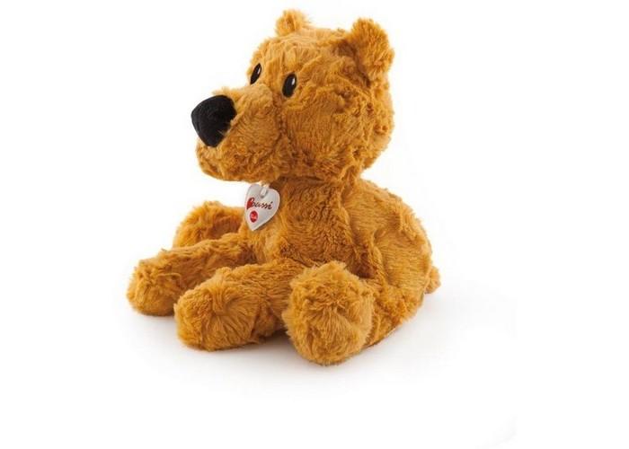 Мягкая игрушка Trudi Рыжий мишка 38 смРыжий мишка 38 смМягкая игрушка Trudi Рыжий мишка 38 см. Рыжий мягкий мишка от Trudi имеет все шансы занять место в сердце Вашего ребенка, подруги или дамы сердца.   Мягкий плюш делает его невероятно приятным на ощупь. Малышу понравится обнимать медведя во время сна и играть с ним в часы бодрствования. Мягкие игрушки рекомендуются деткам от 3 месяцев. Они развивают тактильное восприятие и моторику ребенка.  Мягкие игрушки Trudi – это лучшее, что Вы можете предложить малышу. Они выполнены из высококачественных, экологически чистых материалов. Это значит, что игрушка нетоксична и гипоаллергенна. Кроме того, Мишка не потеряет своей привлекательности даже после машинной стирки. Рекомендуемая температура – 30 градусов.  Размер медведя – 38 см<br>