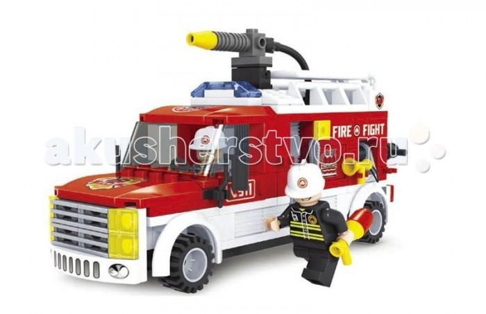 Конструктор Ausini Пожарные 207 деталей
