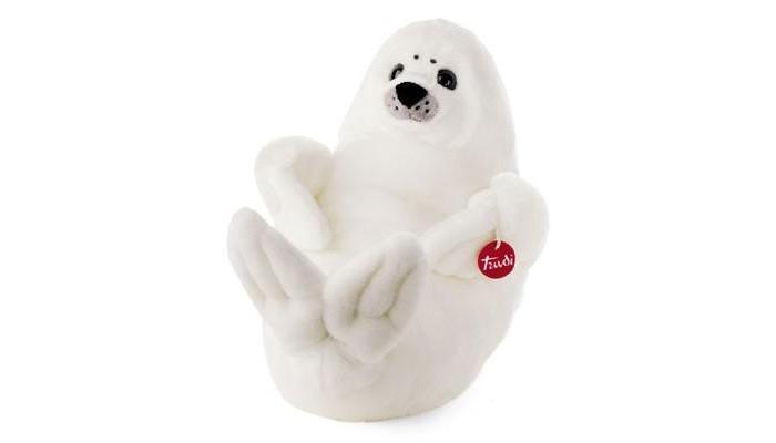 Мягкая игрушка Trudi Белый Тюлень 28 смБелый Тюлень 28 смМягкая игрушка Trudi Белый Тюлень 28 см. Этот милый белый тюлень с трогательными глазами вызывает умиление. Ваш малыш проведет чудесные минуты, играя с этой мягкой игрушкой. Этот тюлень станет преданным другом как для девочки, так и для мальчика. Невероятно мягкая на ощупь игрушка подарит свою нежность и утешит в грустную минуту. Достаточно крепко прижать тюленя к себе, и вы почувствуете тепло и заботу, с которой сделана эта игрушка.  Компания Trudi работает на рынке детских мягких игрушек уже более 50 лет. Trudi гарантирует качество, итальянский дизайн и абсолютную безопасность своей продукции.  Этот тюлень - самый маленький из своего семейства.<br>
