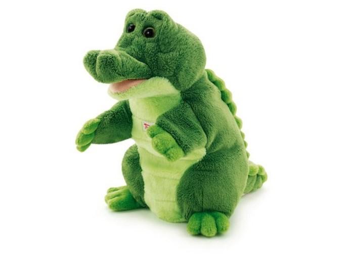 Trudi Игрушка на руку Крокодил 25 см trudi игрушка на руку крокодил 25 см