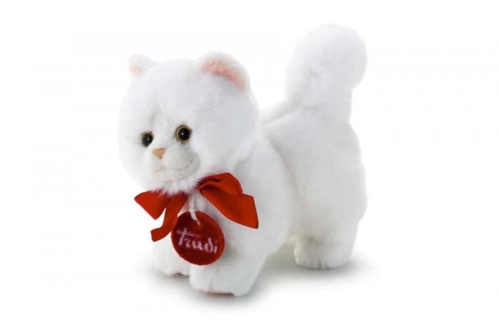 Мягкая игрушка Trudi Белая кошечка делюкс 15 см