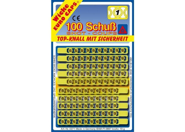 Sohni-wicke Игрушечные 1-зарядные пистоны 100 шт.