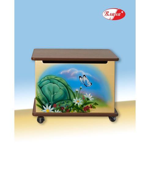 Ящики для игрушек Влана Тумба для игрушек Капуста
