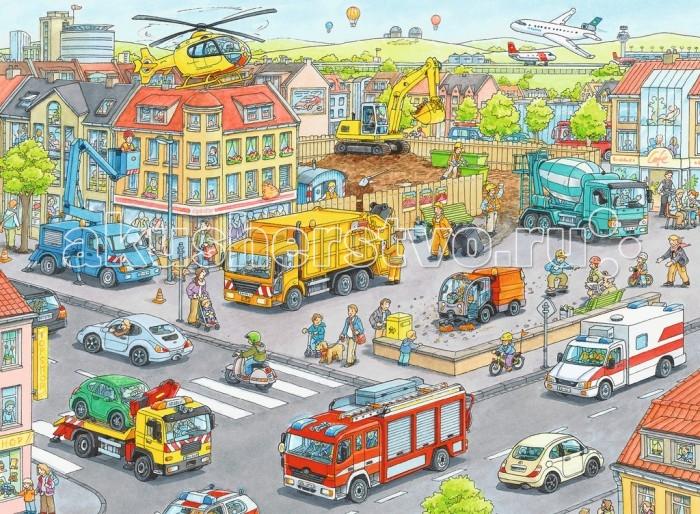 Ravensburger Пазл Городской транспорт 100 элементов