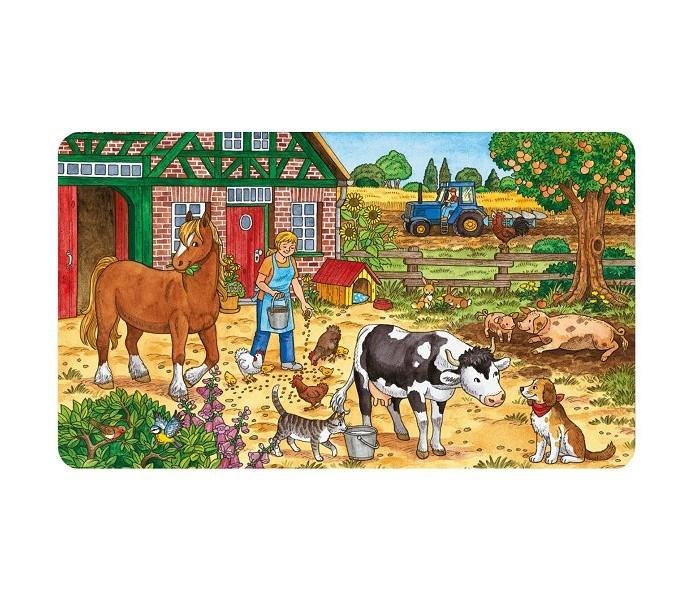 Ravensburger Пазл Жизнь на ферме 15 элементов