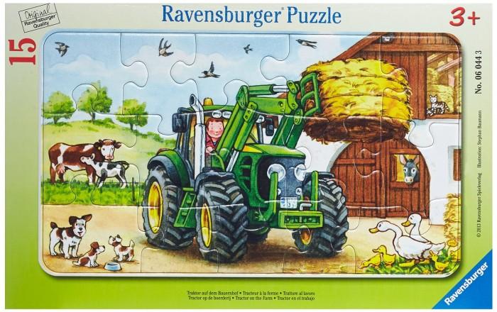 Ravensburger Пазл Трактор на ферме 15 элементов