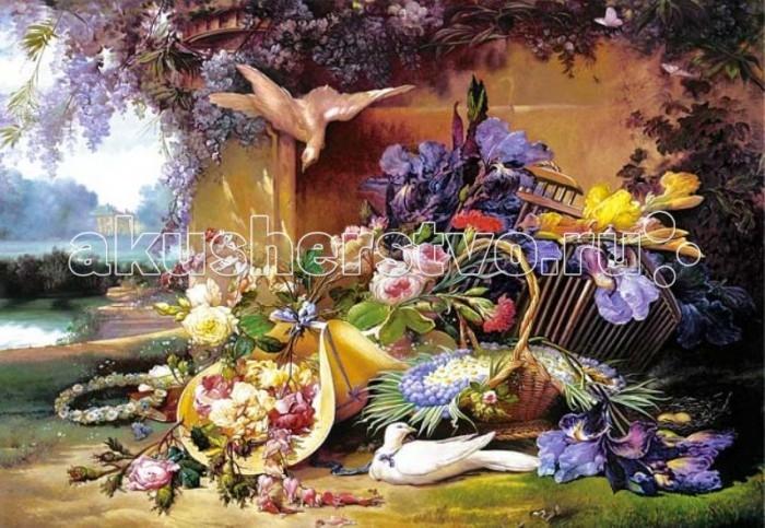 Castorland Пазл Живопись цветы 2000 элементов