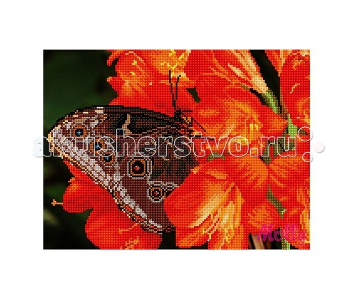 Molly Мозаичная картина Шоколадница 30х40 см