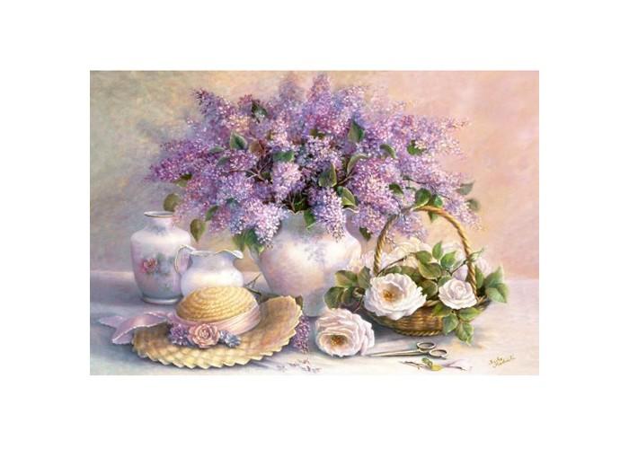 Castorland Пазл Цветы, живопись 1000 элементов