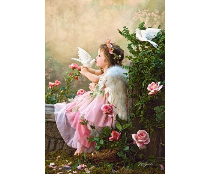 Castorland Пазл Поцелуй Ангела 1000 элементов