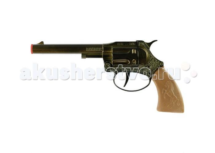 Sohni-wicke Пистолет Ramrod 100-зарядные Gun Western 178mm в коробкеПистолет Ramrod 100-зарядные Gun Western 178mm в коробкеИгрушечное оружие Sohni-wicke Пистолет Ramrod 100-зарядные Gun Western 178mm в коробке  Красивый короткоствольный револьвер — не только стильное, но еще и очень удобное оружие для любого храбреца с Запада Нового света. Такой игрушечный пистолет поможет поймать любого преступника и получить за него награду!  Длина пистолета: 178 мм Ёмкость магазина: 100 зарядов  Sohni-Wicke — это лучшее детское оружие от европейского производителя. Вся продукция компании выполнена из безопасных, экологичных, нетоксичных и качественных материалов. Обязательно ознакомьтесь с инструкцией и соблюдайте меры безопасности.  Пистоны необходимо приобретать отдельно.<br>