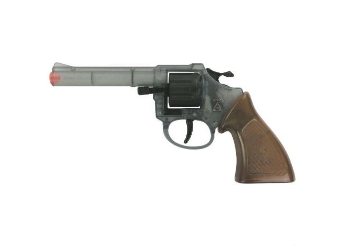 Sohni-wicke Пистолет Ringo Агент 8-зарядные Gun Special Action 198mmПистолет Ringo Агент 8-зарядные Gun Special Action 198mmИгрушечное оружие Sohni-wicke Пистолет Ringo АГЕНТ 8-зарядные Gun ХРОМ Western 198mm  Для того чтобы защитить маленький городок на Диком Западе, вместе со всеми салунами, лавками, банками и домами, нужно быть лучшим стрелком в городе! Поэтому шериф должен обладать идеальным оружием, таким как пистолет Ringo Агент. Отличительная черта этого пистолета — прозрачный корпус.  Длина пистолета: 198 мм Ёмкость магазина: 8 зарядов  Sohni-Wicke — это лучшее детское оружие от европейского производителя. Вся продукция компании выполнена из безопасных, экологичных, нетоксичных и качественных материалов. Обязательно ознакомьтесь с инструкцией и соблюдайте меры безопасности.  Пистоны необходимо приобретать отдельно.<br>