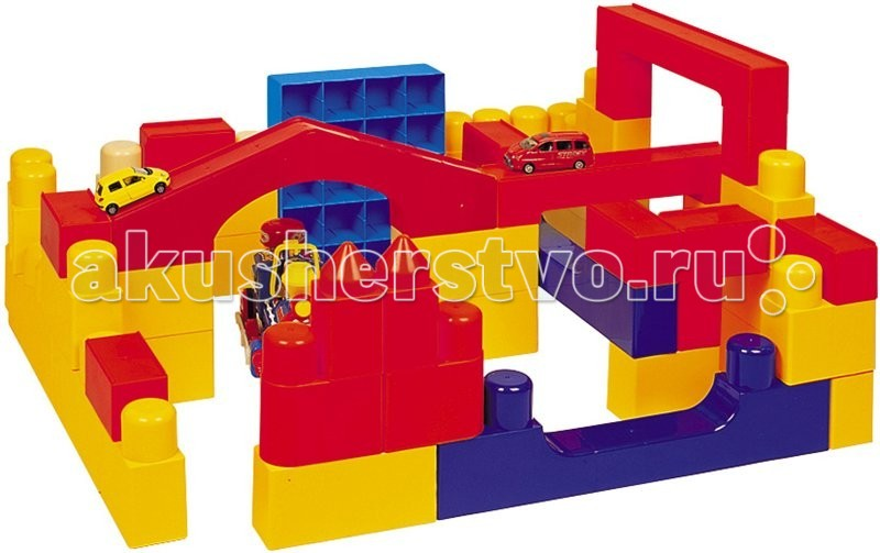 Haenim Toy Конструктор крупноблочный Биг Блок (75 деталей) Конструктор крупноблочный Биг Блок (75 деталей) HN-930