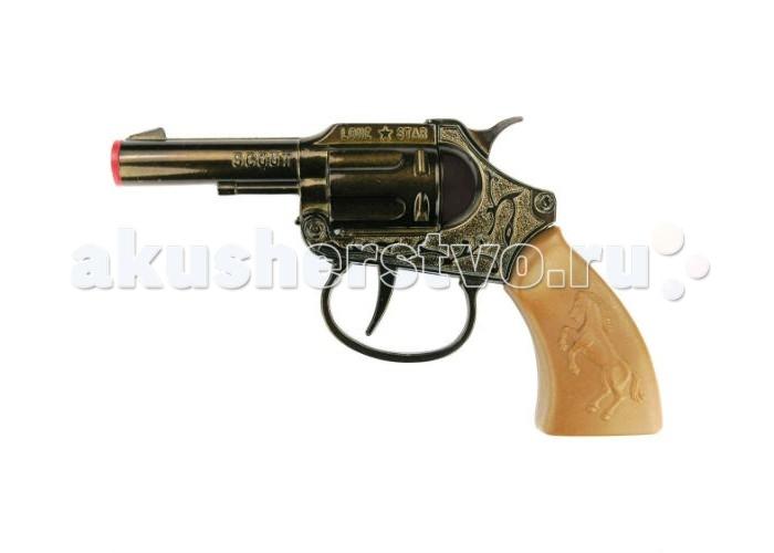Sohni-wicke Пистолет Scout 100-зарядные Gun Western 135mmПистолет Scout 100-зарядные Gun Western 135mmИгрушечное оружие Sohni-wicke Пистолет Scout 100-зарядные Gun Western 135mm  Ваш ребенок любит вестерны и фильмы про крутых ковбоев? Значит меткий и надежный игрушечный пистолет Scout на 100 зарядов станет верным помощником для юного героя с Дикого Запада. Этот игрушечный пистолет идеально создан для активных детских игр.  Длина пистолета: 135 мм Ёмкость магазина: 100 зарядов  Sohni-Wicke — это лучшее детское оружие от европейского производителя. Вся продукция компании выполнена из безопасных, экологичных, нетоксичных и качественных материалов. Обязательно ознакомьтесь с инструкцией и соблюдайте меры безопасности.  Пистоны необходимо приобретать отдельно.<br>