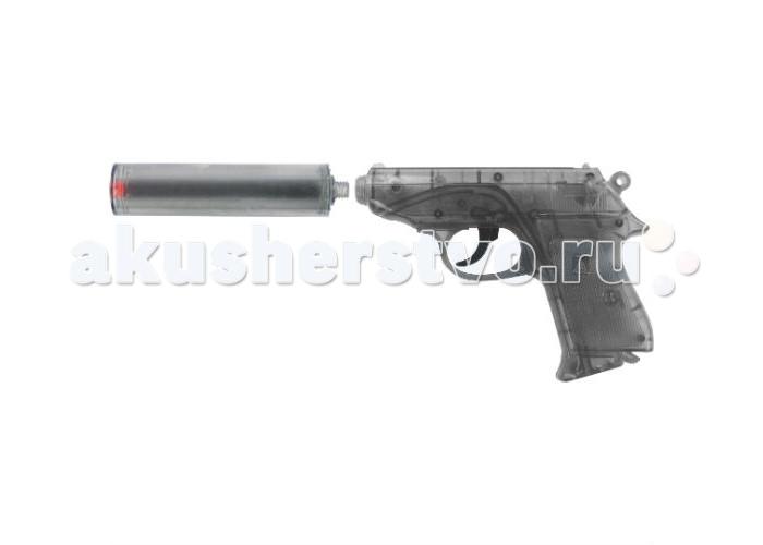 Sohni-wicke Пистолет Специальный Агент PPK 25-зарядные Gun с глушителемПистолет Специальный Агент PPK 25-зарядные Gun с глушителемИгрушечное оружие Sohni-wicke Пистолет Специальный АГЕНТ PPK 25-зарядные Gun с глушителем  Пистолет «Специальный Агент PPK» - великолепное профессиональное оружие для детей-шпионов. Если ваш ребенок увлекается сериалами и фильмами про специальных агентов, то этот пистонный пистолет из прозрачного серого пластика подойдет ему как нельзя лучше!  Ёмкость магазина: 25 зарядов  Sohni-Wicke — это лучшее детское оружие от европейского производителя. Вся продукция компании выполнена из безопасных, экологичных, нетоксичных и качественных материалов. Обязательно ознакомьтесь с инструкцией и соблюдайте меры безопасности.  Пистоны необходимо приобретать отдельно.<br>
