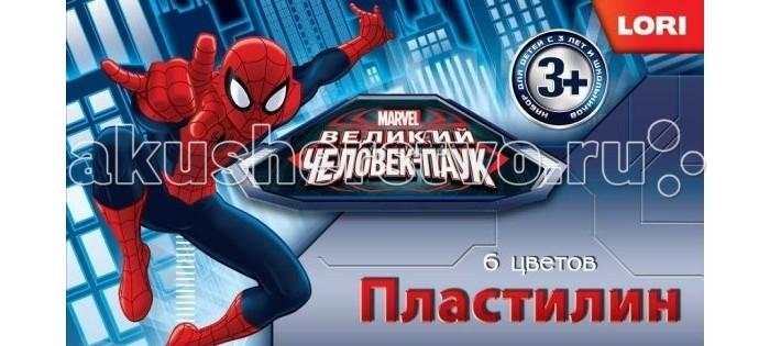 Lori Пластилин Человек-паук 6 цветов без европодвеса