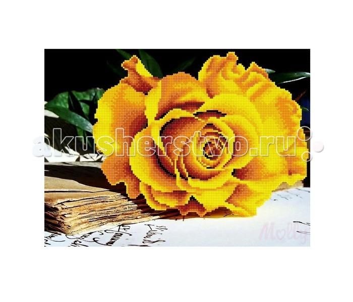 Molly Мозаичная картина Чайная роза 30х40 смМозаичная картина Чайная роза 30х40 смMolly Мозаичная картина Чайная роза 30х40 см - это оригинальный набор, позволяющий создать первую картину, благодаря поэтапной частичной выкладке. разноцветными круглыми элементами мозаики полотна.  Особенности: Вид творчества и увлекательное времяпровождение, которое позволяет без специальной подготовки любому желающему создать яркую, переливающуюся всеми цветами радуги картину. Не что иное, как эскиз будущего рисунка, контур, нанесенный на холст. Рисунок разбит на маркированные сегменты, обозначенные буквой или цифрой. Каждой цифре или букве соответствует определенный цвет мозаики. Благодаря качественной шлифовке мозаичных элементов любая готовая картина выглядит просто потрясающе.  Специальный пинцет в наборе и клеевая основа холста позволяет удобно, без использования дополнительных инструментов распределять мозаичные элементы на холсте. Картины мозаикой красиво сверкают при любом освещении. Готовая картина, помещенная в раму, - это отличный подарок и красивое интерьерное украшение.  В наборе: Тканевый холст с клеевым слоем и с нанесенной схемой рисунка; Металлический пинцет; Пластиковый контейнер для элементов мозаики; Специальный карандаш; Клей-липучка для карандаша; Комплект разноцветных мозаичных элементов диаметром 2,5 мм  Количество цветов: 10 Частичная выкладка Уровень сложности: трудный<br>