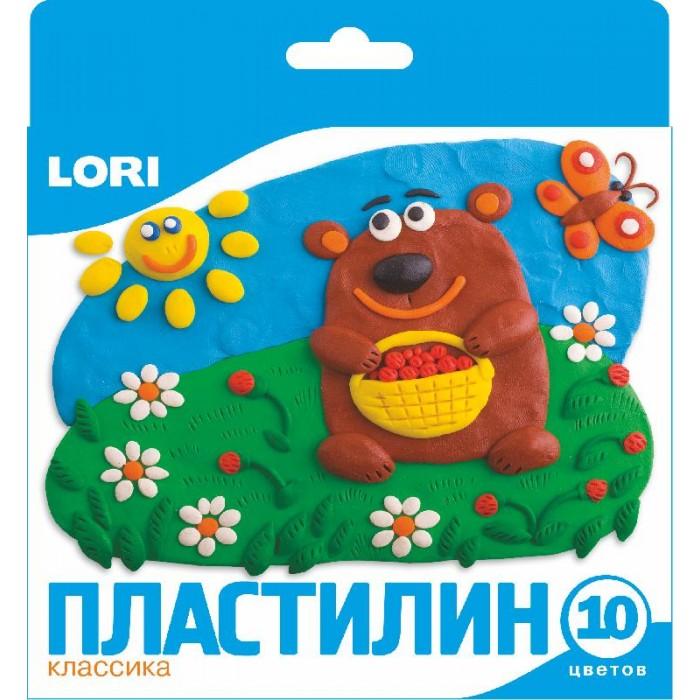 Lori Пластилин классика 10 цветов