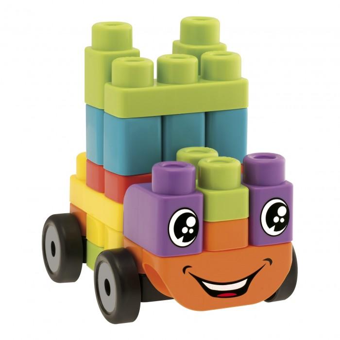 """Конструктор Chicco Машины 40 блоковМашины 40 блоковКонструктор Chicco для малышей – это набор 5 в 1. Детали конструктора предлагают создать пять видов транспорта. Это грузовик, паровоз, вертолет, самолет и кораблик. Пластиковые блоки яркие, имеются специальные детали для изготовления улыбающихся мордочек.  Новая серия игрушек App Toys – это интерактивные конструкторы, которые объединяют в себе традиционные и виртуальные игры.   Игрушки, которые ребенок создает собственными руками, оживают с помощью инновационных цифровых технологий!  Набор из 40 блоков """"Транспортные средства"""" позволяет создать собственный авто-, авиа- и железнодорожный парк.  Но игра на этом не заканчивается!  Бесплатное приложение для смартфона или планшета """"App Toys Block"""" переносит созданные транспортные средства в трехмерную реальность, где они оживают и взаимодействуют с ребенком при наведении планшета или смартфона на специальные блоки.<br>"""