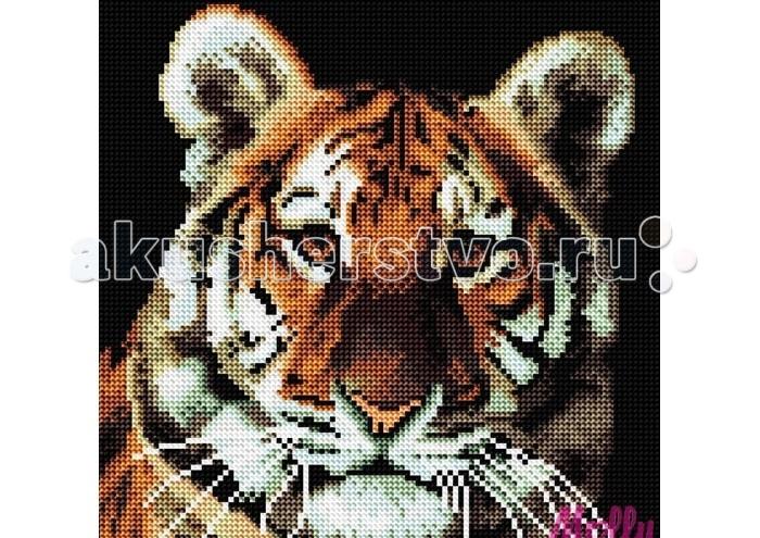 Molly Картины со стразами 2.8 мм Портрет тигра