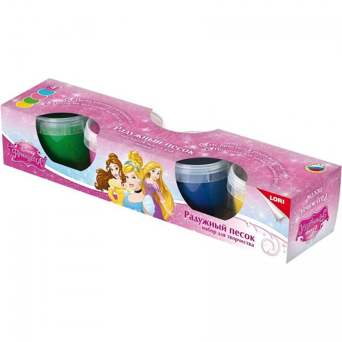 Lori Радужный песок Disney Принцессы 4 цвета формочка