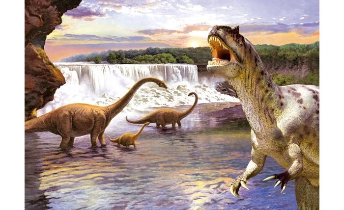 Castorland Пазл Динозавры 2 260 элементов