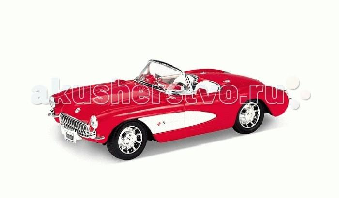 Welly Модель машинки 1:24 Chevrolet CorvetteМодель машинки 1:24 Chevrolet CorvetteДанный автомобиль марки Chevrolet отличается впечатляющей реалистичностью и большим сходством со своим реальным прототипом. Элементы машины выполнены из металла и пластика, хорошо детализированы. Автомобиль имеет подвижные соединения: можно без проблем открывать и закрывать двери, капот, а колеса крутятся. Другой важной особенностью модели Chevrolet Corvette является то, что она имеет открытый верх, а потому можно тщательно рассмотреть любой элемент салона.<br>