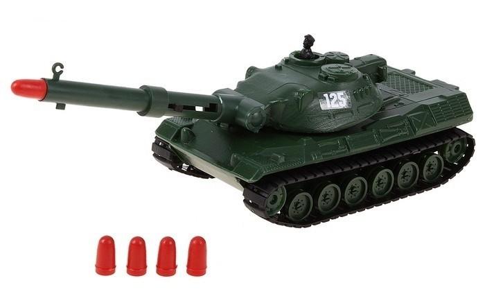 Форма Танк с пневмопушкойТанк с пневмопушкойФорма Танк с пневмопушкой привлечёт внимание любого мальчишки, который любит устраивать разнообразные боевые сражения.   Особенности: Башня танка может поворачиваться Пушка поднимается и опускается Выстрелы осуществляются безопасными снарядами<br>