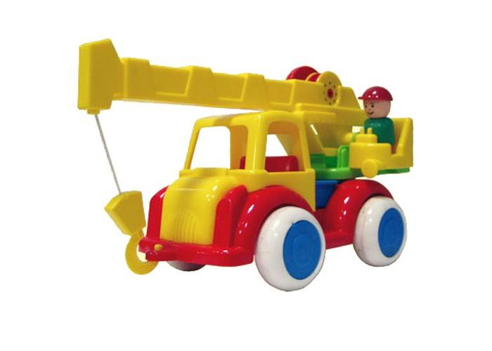 Форма Машина Автокран Детский садМашина Автокран Детский садФорма Машина Автокран Детский сад - интересная и необычная машина для юных любителей спецтехники.  Особенности: Стрела крана способна поворачиваться, а трос можно наматывать на барабан.  В комплект также входит фигурка водителя, вынимающаяся из кабины.  Игрушка обладает многими интересными игровыми функциями, с ней не придется скучать. Колеса созданы из ПВХ.<br>