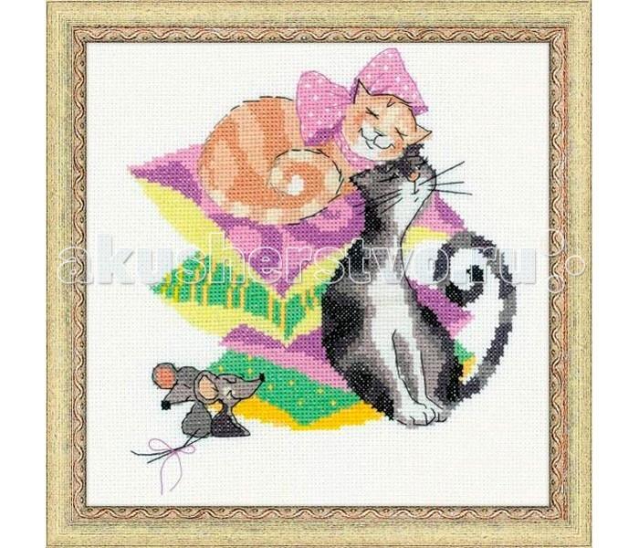 Сотвори сама Набор для вышивания Кошки-мышкиНабор для вышивания Кошки-мышкиСотвори Сама Набор для вышивания Кошки-мышки - это отличный набор для детей, которые любят нитки, ленты и различные лоскутки, а так же дружат с иголкой. Красивый и стильный рисунок-вышивка, выполненный на канве, выглядит оригинально и всегда модно.   Вышивание — это не просто интересное и занимательное хобби, это настоящее рукодельное искусство, способствующее развитию творческих способностей и художественного вкуса. Вышитые вручную картины прекрасно подходят для украшения интерьера, а также могут быть преподнесены в качестве подарка друзьям и близким.  Способствует развитию внимания, воображения, координации движения.  Изготовлено из высококачественных экологически чистых материалов.<br>