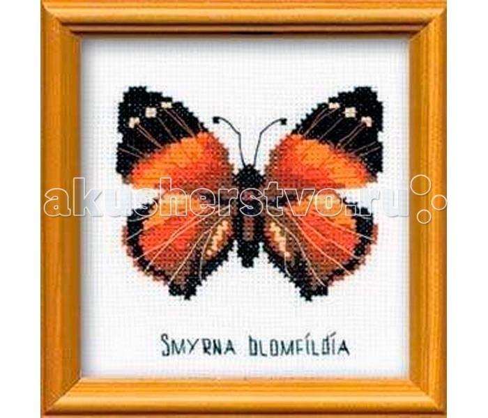 Сотвори сама Набор для вышивания Бабочка Нимфалида