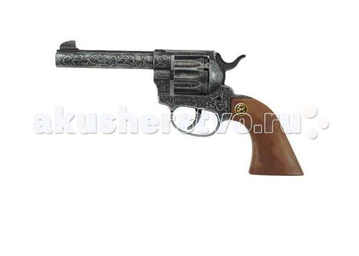 Schrodel Игрушечное оружие Пистолет Magnum antiqueИгрушечное оружие Пистолет Magnum antiqueИгрушечное оружие Schrodel Пистолет Magnum antique — отличный выбор для маленьких любителей приключений, вестернов и борьбы со злом.  Стильный 12-зарядный кольт — отличное детское игрушечное оружие для увлекательных «войнушек» и активных детективных игр. Помогите вашему ребенку расследовать преступления и защищать добро.   Размер: 22 см Ёмкость магазина: 12 пистонов  Игрушечное оружие от немецкой компании Schrodel — лучшие игрушки для военных и схожих социально-ролевых играх для мальчишек. Сделайте игру в «войнушку» полезной для ребенка, расскажите ему о настоящих героях, о том, как важно защищать слабых и творить добро. Помогите ребенку понять важные ценности и жизненные принципы в активной игре про борьбу с преступностью.  Schrodel — один из лучших немецких производителей игрушечного детского оружия отличного качества. Все игрушки компании выполнены из нетоксичных и качественных материалов, безопасных для здоровья ребенка.  Обязательно ознакомьтесь с инструкцией и соблюдайте меры безопасности.<br>