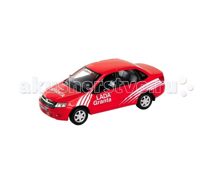 Welly модель машины 1:34-39 Lada Granta Rallyмодель машины 1:34-39 Lada Granta RallyWelly 43657 модель машины 1:34-39 LADA Granta  Коллекционная машинка 43657 LADA Granta от Welly, которую можно купить в нашем интернет-магазине, станет отличным дополнением любой коллекции. Масштаб модели 1:34-39.  У машинки вращаются колёса, кузов детализирован на достойном уровне. Эта модель Лада Гранта была подготовлена для участия в ралли. На капоте и бортах нанесены рекламные наклейки.  Цвет кузова автомобиля представлен в ассортименте. Выбрать определенный цвет заранее не представляется возможным.<br>