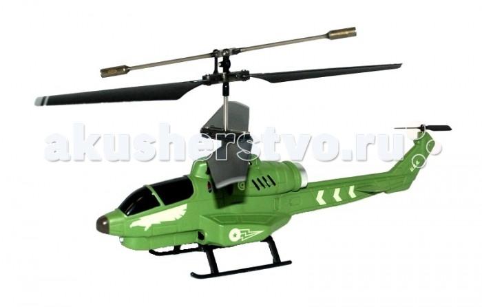 Властелин небес Вертолет БоецВертолет БоецВертолёт ВН 3351 «Боец» 3-х канальный военный вертолет на инфракрасном управлении.   Пропорциональное управление.  Вперед, назад, повороты вправо и влево, зависание, корпус его выполнен из высокопрочного пластика, яркий передний прожектор, встроенный гироскоп.  Время полета 6-9 минут.  Дальность полета до 15 метров.  Зарядка вертолета от пульта и USB.  Размеры вертолета: ДхВхШ 180 х 100 х 45 мм.  ТМ Властелин Небес - первая российская торговая марка в сегменте радиоуправляемых вертолетов и самолетов, зарегистрирована в марте 2005 года. Игрушки Властелин Небес имеют стильную упаковку с подробной инструкцией на русском языке. Серия вертолетов Властелин Небес Серия турбо является лауреатом Национальной премии в сфере товаров и услуг для детей Золотой медвежонок 2011. Властелин Небес - лучшее из того, что летает. Властелин Небес осуществляет бесплатное обслуживание и ремонт игрушек в течение всего срока их эксплуатации.<br>