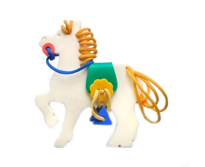 Развивающая игрушка Флексика Шнуровка Лошадка