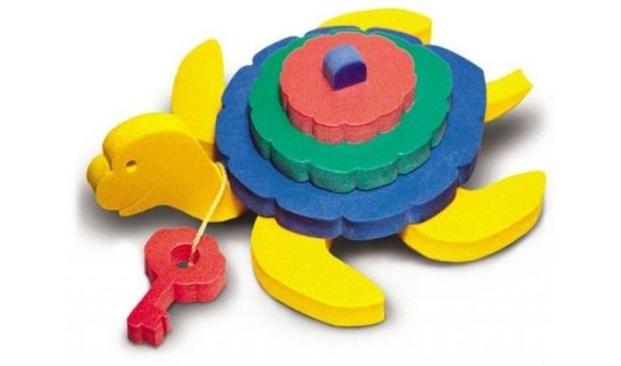 Конструктор Флексика ЧерепахаЧерепахаКонструктор Флексика Черепаха мягкий обязательно понравится вашему малышу и займет его внимание надолго.  Задача ребенка - собрать объемную фигурку из мягких деталей конструктора.   Развивающие игры Флексика сделаны из отечественного полимерного материала, легкого, современного и самое главное – безопасного для детей.   Особые свойства материала позволяют экспериментировать с водой и превратить купание в интересный и увлекательный процесс: достаточно, например, пазлам и наборам для ванной намокнуть, как они прилипают к любым гладким поверхностям.  Особенности: Игра развивает моторику, усидчивость, логическое мышление. Материал: пенополиэтилен.<br>