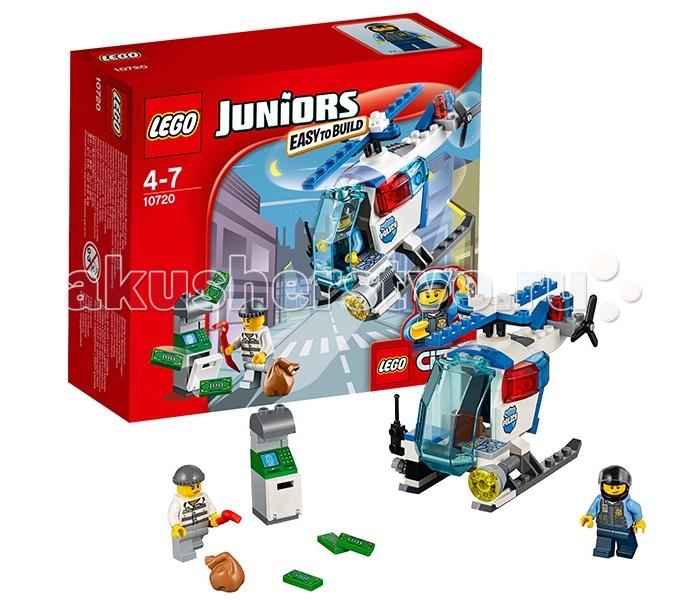 Конструктор Lego Juniors 10720 Лего Джуниорс Погоня на полицейском вертолёте