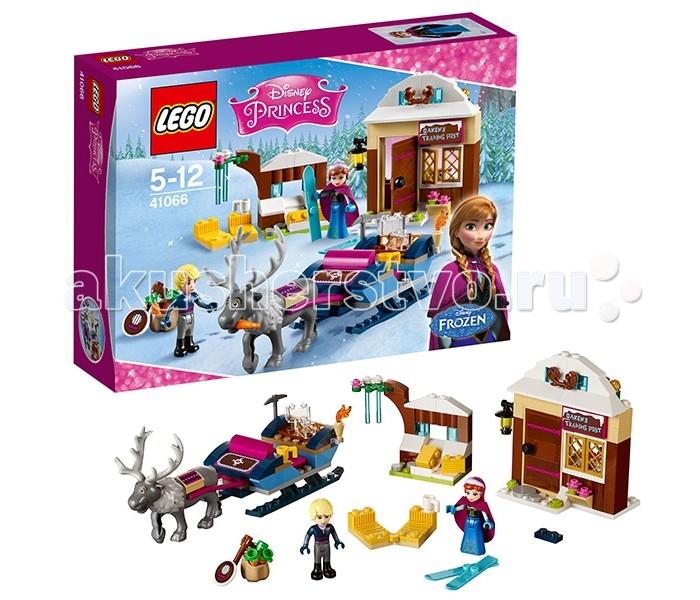 Конструктор Lego Disney Princesses 41066 Лего Принцессы Дисней Анна и Кристоф: прогулка на санях
