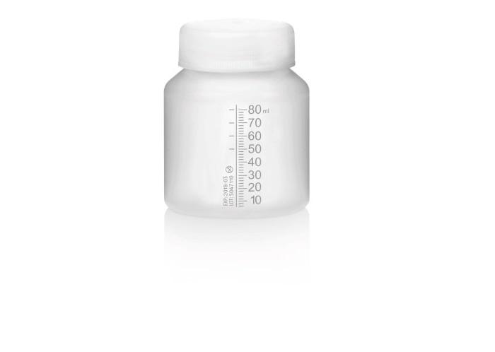Medela Одноразовый контейнер для грудного молока 80 млОдноразовый контейнер для грудного молока 80 млMedela Одноразовый контейнер для грудного молока 80 мл идеально подходят для использования во время сцеживания.   Особенности: На контейнерах для грудного молока есть градуировочная маркировка, что позволяет контролировать количество сцеженного молока.  Одноразовые контейнеры для грудного молока соответствуют основным требованиям, предъявляемым к сцеживанию, хранению и кормлению в больничных условиях.  Контейнеры предназначены для однократного использования.<br>