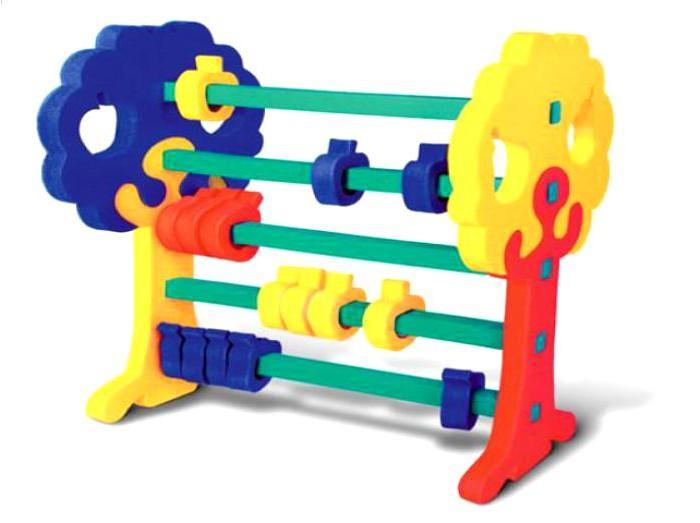 Конструктор Флексика Счеты №2Счеты №2Конструктор Флексика Счеты №2 станет приятным и полезным подарком для вашего ребенка. Конструктор может стать не только забавной игрушкой, но также и одним из первых пособий по математике.   Развивающие игры Флексика сделаны из отечественного полимерного материала, легкого, современного и самое главное – безопасного для детей.   Особые свойства материала позволяют экспериментировать с водой и превратить купание в интересный и увлекательный процесс: достаточно, например, пазлам и наборам для ванной намокнуть, как они прилипают к любым гладким поверхностям.  Особенности: С помощью предложенного конструктора малыш соберет разноцветные счеты и сможет познакомиться в наглядной форме с нехитрыми правилами сложения и вычитания.  Все элементы счетов выполнены из современного, легкого, эластичного материала, который обеспечивает большую долговечность и является абсолютно безопасным для детей.  Кроме того, мягкий конструктор способствует развитию у ребенка мелкой моторики, наблюдательности, образного и логического мышления.<br>