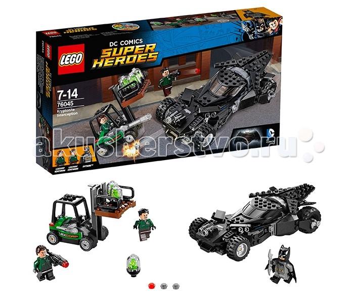 Конструктор Lego Super Heroes 76045 Лего Супер Герои Перехват криптонита Super Heroes 76045 Лего Супер Герои Перехват криптонита 76045