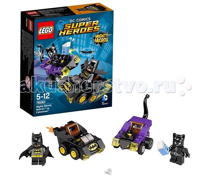Конструктор Lego Super Heroes 76061 Лего Супер Герои Бэтмен против Женщины-кошки