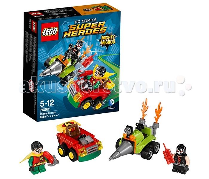 Конструктор Lego Super Heroes 76062 Лего Супер Герои Робин против Бэйна
