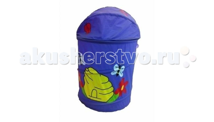 Shantou Gepai Корзина для игрушек Бабочка 43х56 см