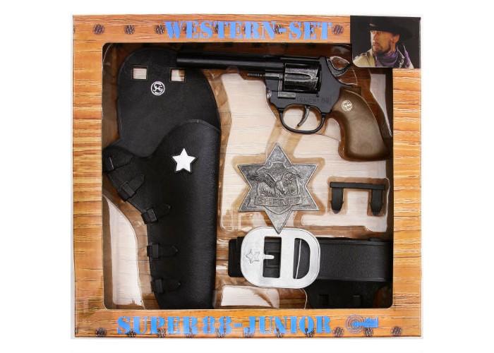 Schrodel Набор Дикий Запад с игрушечным пистолетом Super 88 Набор Дикий Запад с игрушечным пистолетом Super 88 1950149