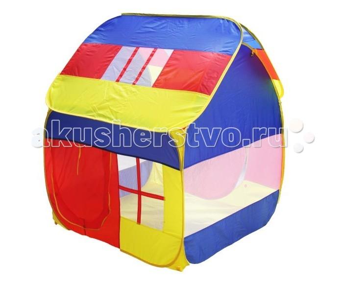 Shantou Gepai Палатка игровая Домик большойПалатка игровая Домик большойЕсли у вас есть маленькие дети, то игровая палатка Домик большой незаменима для выездов на природу или поездок на дачу.   Палатка легко раскладывается, устанавливается и складывается, удобна в транспортировке.  Размер: длина каждой стороны палатки - 115 см, высота - 130 см В комплекте сумка для транспортировки.<br>