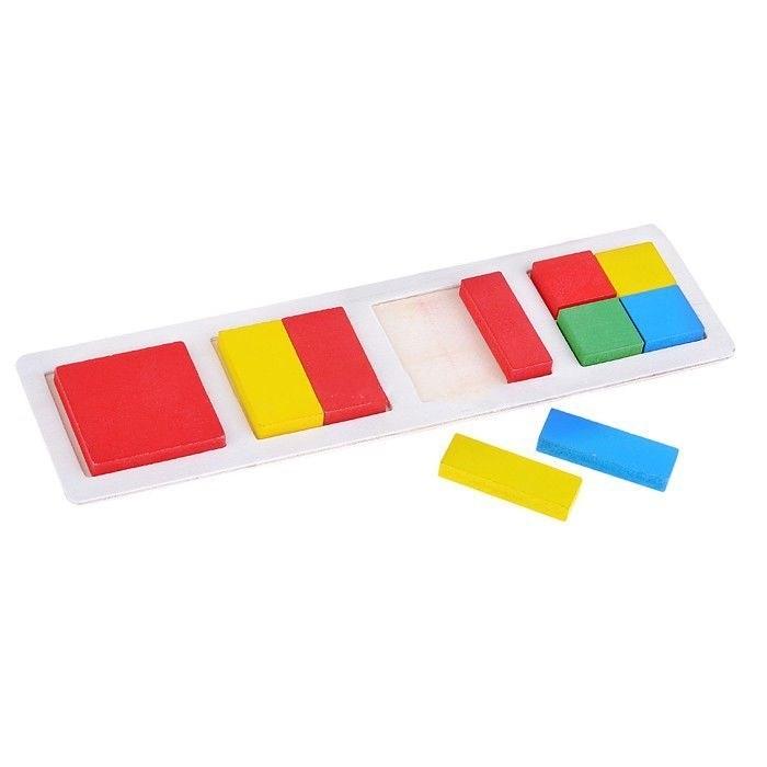 Деревянная игрушка Фабрика фантазий пазл Фигуры 41771